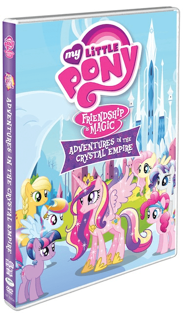 My Little Pony: Friendship is Magic: Adventures in the Crystal Empire on DVD