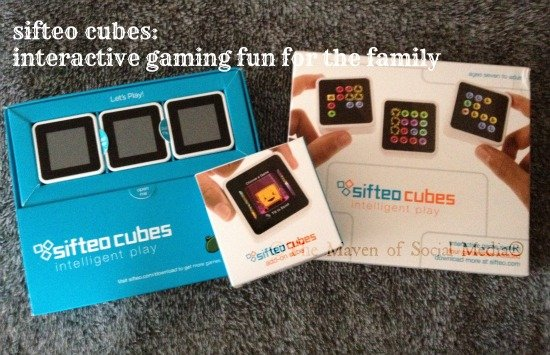The latest in interactive gaming – Sifteo Cubes