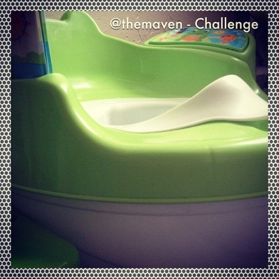 Challenge – Potty Training – January Photo a Day #7sDDPhotoaDay