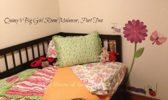 Quincy's Big Girl Room Makeover – The Bedding!