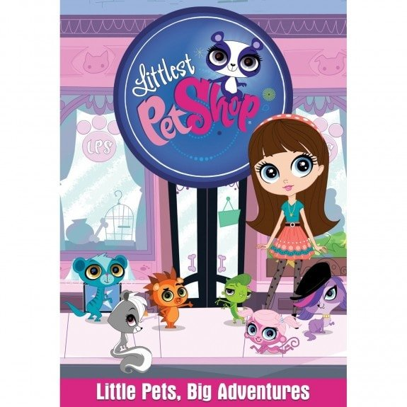 littlest pet shop dvd release