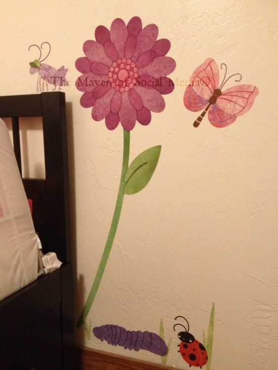 Quincy's Big Girl Room Makeover –  Step 1: My Wonderful Walls
