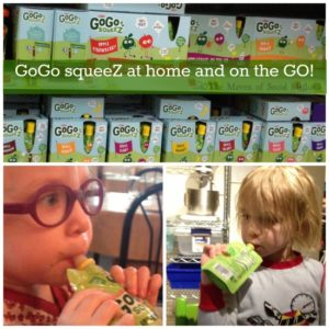 GoGo squeeZ at home and on the GO!
