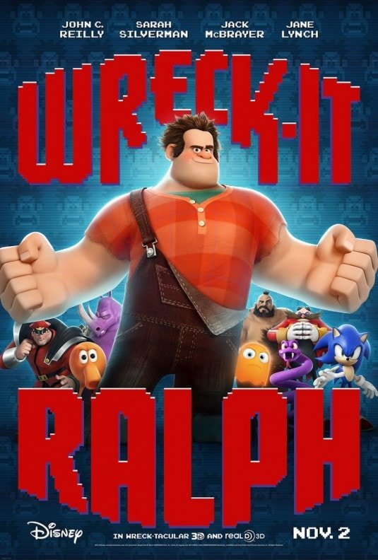 Wreck It Ralph is probably Sebby's new favorite movie!