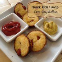 corn dog muffin