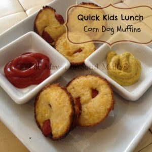 Quick Kids Lunch: Corn Dog Muffins