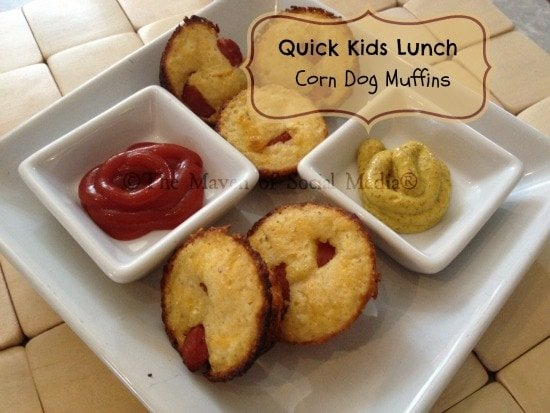 corn dog muffin