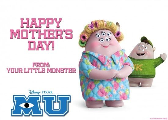 Happy Mother's Day from Monsters University
