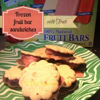 frozen fruit bar sandwiches