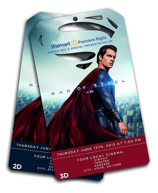 Man of Steel Exclusive Pre-Screening Tickets at Walmart