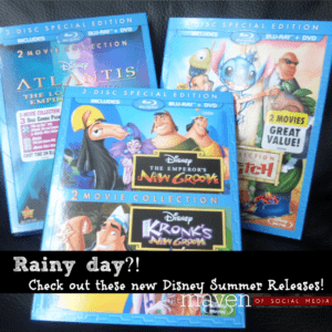 Rainy Day? Check out these Disney Summer Releases!