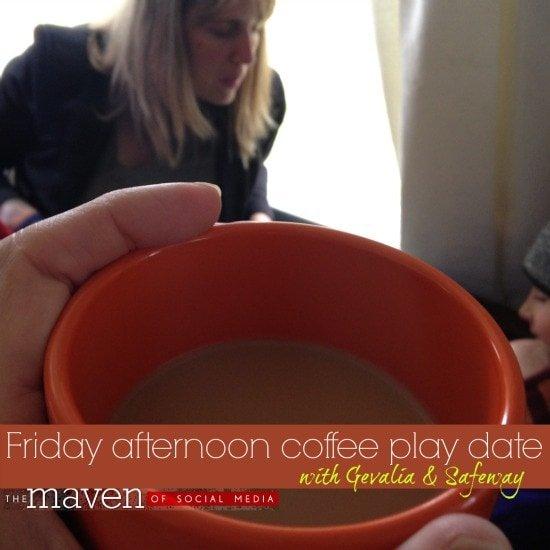 coffee play date