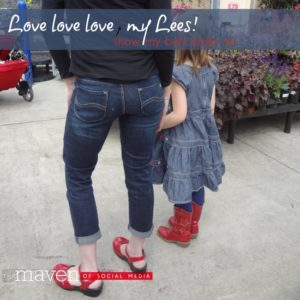 Love love love my Lee Jeans!