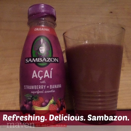 Sambazon Superfood Smoothies review