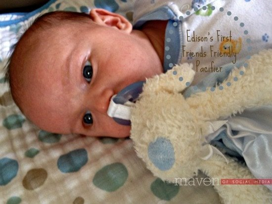 Edison and his First Friends Friendly Pacifier