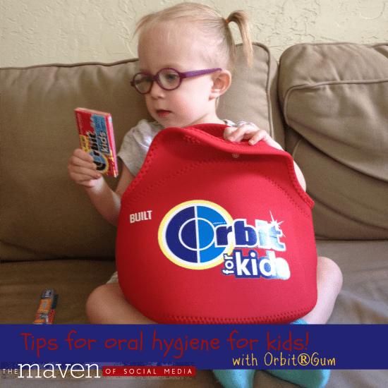 Tips for oral hygiene for kids!