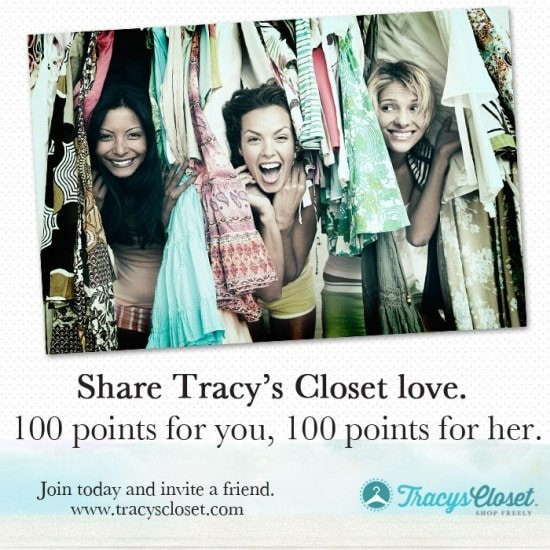 It's time to go shopping in Tracy's Closet!