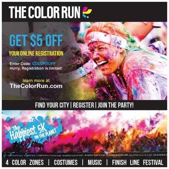 Have you signed up for the Color Run?
