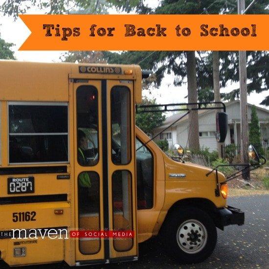 Tips for Back to School - The Maven of Social Media®