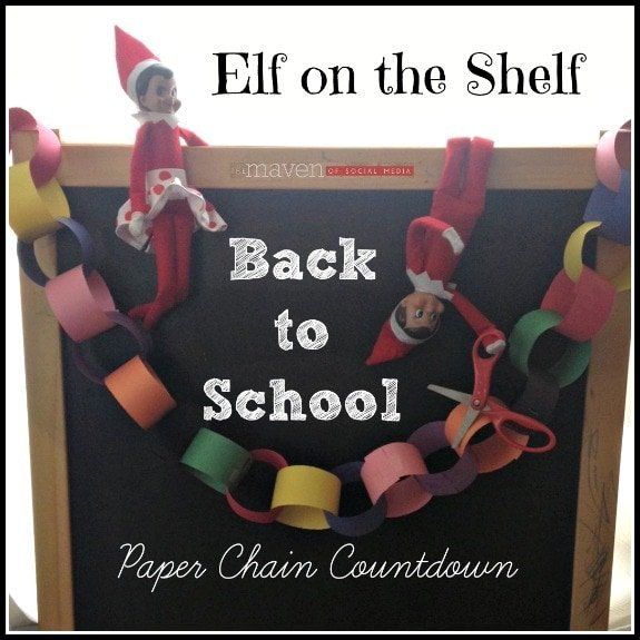 Back to School Countdown with Elf on the Shelf