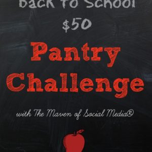 Pantry Challenge: Something I've never done before