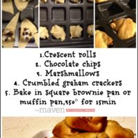 Easy S'Mores Pockets ~ The Maven of Social Media ©