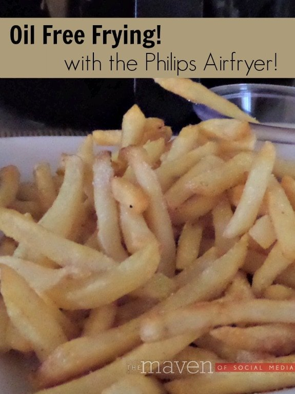 Oil Free Frying in the Philips Airfryer