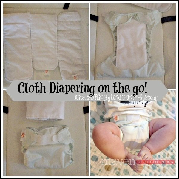 Cloth diapering on the go!