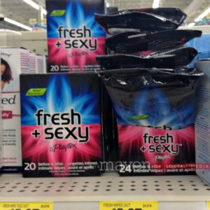Recapturing intimacy with fresh and sexy wipes