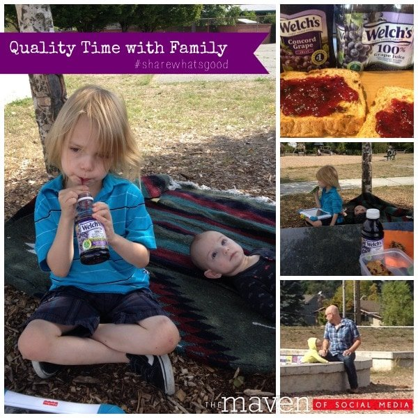 Share What's Good: Quality time with Family.