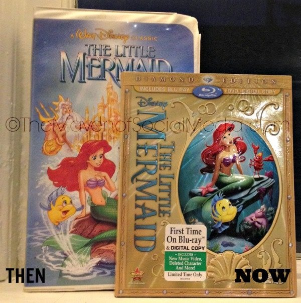 the little mermaid bluray
