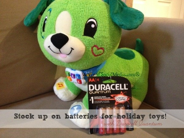 Do you have battery operated toys on your holiday wish list?