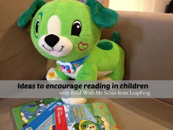 Ideas to encourage reading in children with Read With Me Scout from LeapFrog