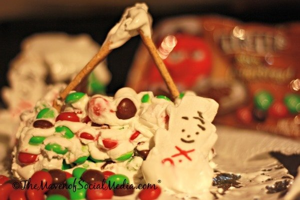 M&M Gingerbread House #shop #HolidayMM