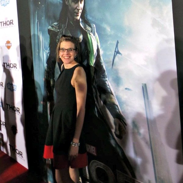The Maven at the Thor 2 premiere