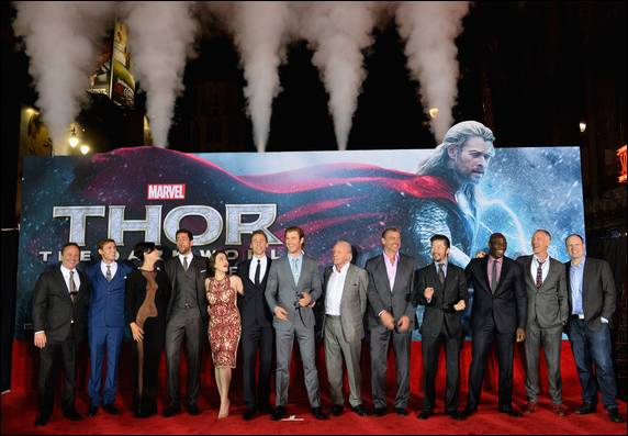 Thor 2: Hollywood premiere