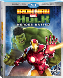 Iron Man and Hulk Heroes United: Available on Blu-Ray