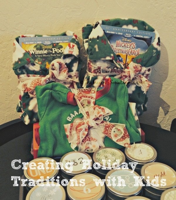 Creating Christmas Traditions with Kids