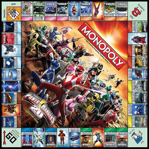Family Game Night: Power Rangers Monopoly
