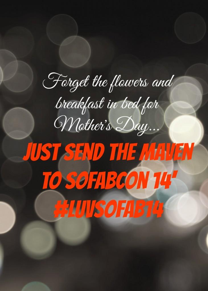 Send The Maven to SoFabCon #LuvSoFab14