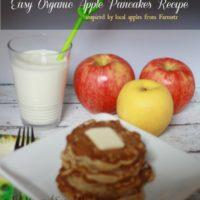 Easy Organic Apple Pancake Recipe