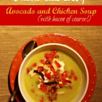 Avocado and Chicken Soup