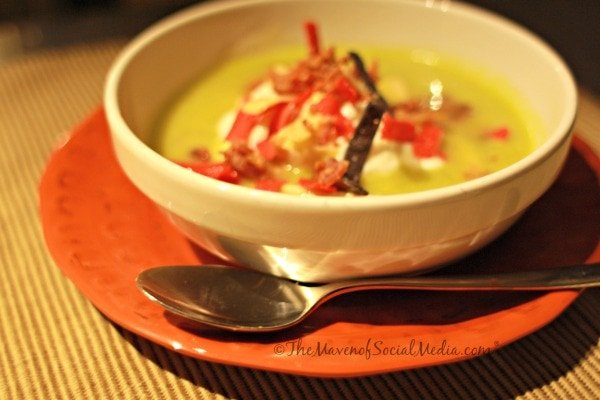 Avocado and Chicken Soup - The Maven of Social Media