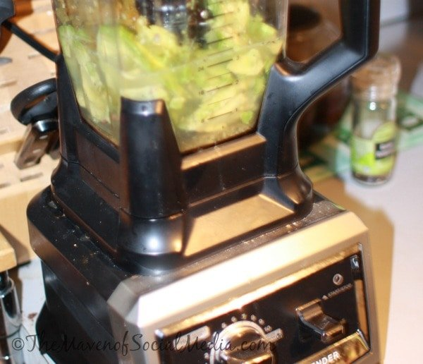 Avocado in Ninja Blender