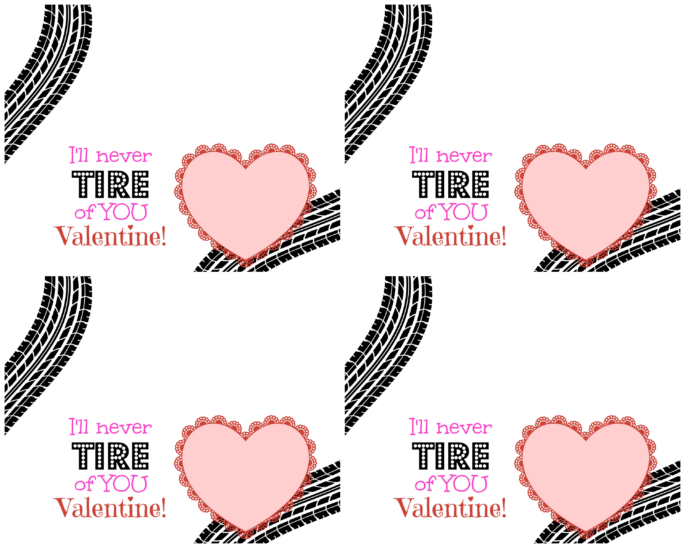 I'll Never Tire of You Valentine TEMPLATE - The Maven of Social Media®