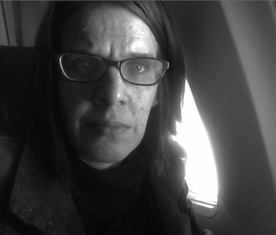 Selfie at 30,000 feet on Alaska Airlines