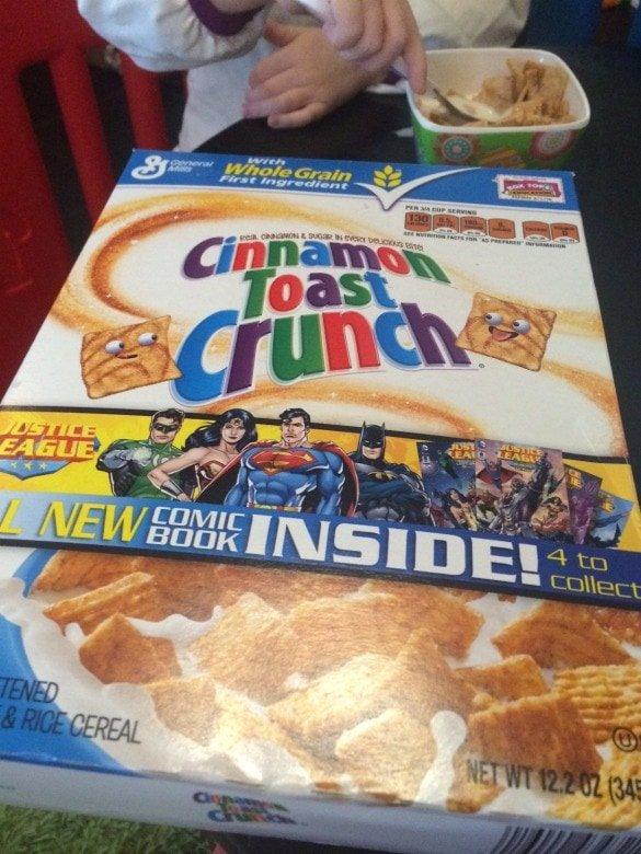 Free Comic Books in Cinnamon Toast Crunch