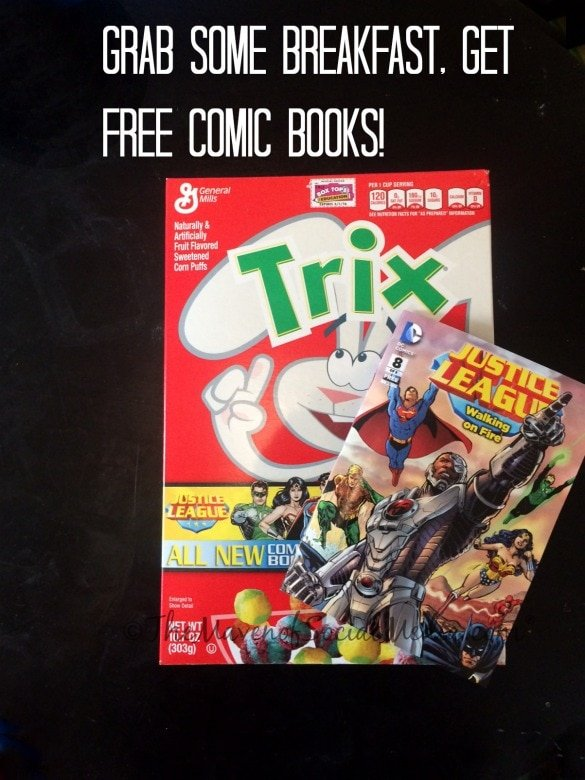 Grab some breakfast, get free comic books!