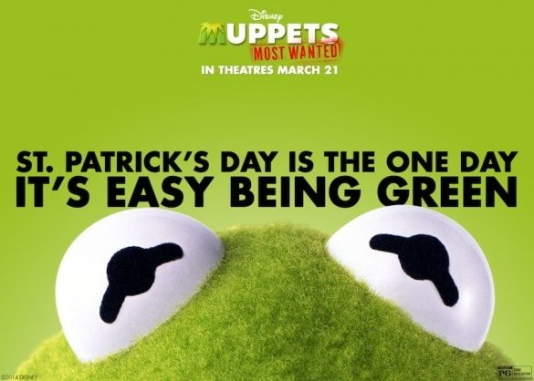 Happy St. Patrick's Day! – Muppets Most Wanted