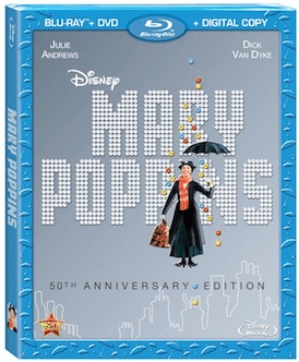 The Beloved Mary Poppins is now available on Blu-Ray!